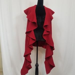 Portolano Cashmere ruffle shawl